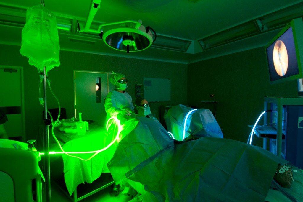 Cirugía de Laser Verde